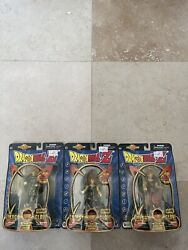 Dragonball Z Energy Glow Series Complete 3 Set, Never Opened. Irwin Toys