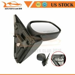 Fits 2002-2009 Dodge Ram 1500 P/u Ram 2500/3500 P/u Manual Fold Black Rh Mirror