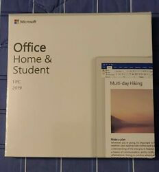 Microsoft Office Home and Student 2019 *PC ONLY* *NOT FOR APPLE MAC*