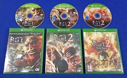 Xbox One Aot X3 Wings Of Freedom + 2 + Final Battle Region Free Attack On Titan