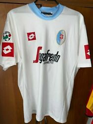 Vintage Lotto Treviso Football Jersey 33 Donzella Serie A Badge Mens Size Xl
