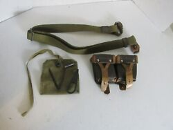 Original Russian 1947 Mosin Nagant Cleaning Tool Kit Sling And Ammo Pouch