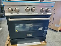 Zline 30 Professional Gas Stove/ Electric Oven Black+stainless Steel Rgs-36 Ln