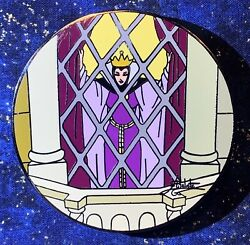 Disney Auctions Elisabete Gomes Signed Evil Queen In Window Le 100 Pin From 2004