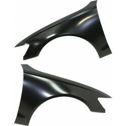 For Audi A6 Front Fender 2012-2018 Lh And Rh Pair/set Aluminum Primed Capa