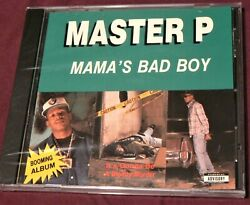 New Mamaand039s Bad Boy By Master P Cd Factory Sealed In Shrink Wrap Free Shipping