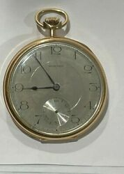 Antique 14k Solid Gold E. Howard 19 Jewels Pocket Watch Wow