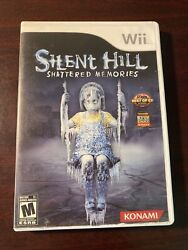 Silent Hill Shattered Memories Nintendo Wii 2009 Cib Complete With Manual