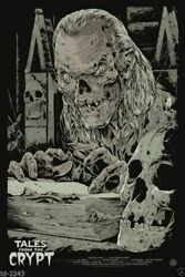 Tales From The Crypt Poster - Mondo - Ken Taylor - Limited Edition Of 225