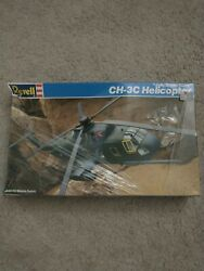 Vintage Revell Jolly Green Giant Ch-3c Helicopter 4346 Sealed 1/72 Model Kit Usa