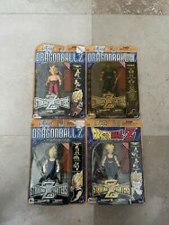 Dragonball Z - Striking Z Fighters - Complete 4 Set - Irwin Toy New In Box
