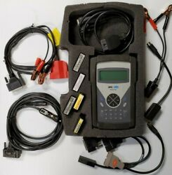 Spx Otc Monitor Elite W/ 8 Cables And Hard Case Working Unit Scanner Scan Tool