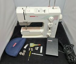 Bernina 1008 Sewing Machine Serviced Tested Manual Accessories And Warranty
