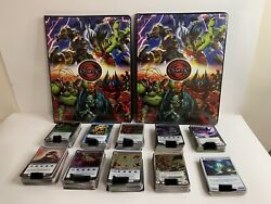 Chaotic Cards Huge Lot 1241 Cards Creatures - Holos - Books - Rare - Htf