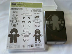 Stampin Up Cookie Cutter Christmas And Matching Punch Bundle