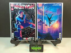 Nightwing 80 A And B Set 1st Print 1st Full Appearance Of Heartless Nm Dc 2021
