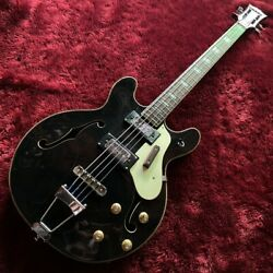 Vintage 1960's Burns Ag-4h 4 Strings Rosewood Electric Bass Rare