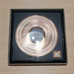 Technics Sl-1200 35th Anniversary Gold Disc 2008 Limited To 1000 Very Rare