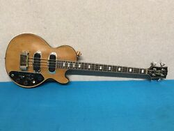 Vintage 1970and039s Gibson Les Paul Triumph Bass W/ Hard Case - Ready To Play