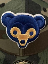 Leaders 1354 Cubs New Era 1962 All Star Patch Camo Fitted 7 1/2