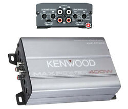 Kenwood Kac-m1814 400w Max Power Mosfet Compact 4-channel Amplifier Class D -uc
