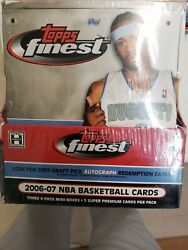 2006-07 Sealed Topps Finest Basketball Box Factory Sealed