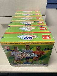 2020-21 Topps Chrome Bundesliga Match Attax Boxes Lot 5 New Sealed Uk Exclusive
