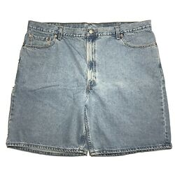 Leviand039s 550 Relaxed Fit Jean Shorts Menand039s 46 Measures 45 Made In Usa Blue Denim
