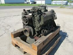 Military Cummins V8 300 Diesel Engine Removed Form 10 Ton Army Truck Sw-ironman