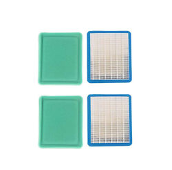 2x Air Filter Pre Filter For Briggs And Stratton Model 030468 5500/6875 Watts Ge