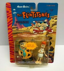 1994 Boley The Flintstones Fred And Wilma Wind-up Collector Figurines