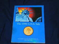 The 1990 G.n.a Sale Auction Catalog 5/90 Mid-american Rare Coin Auctions