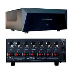 7-channel 7x200w Power Amplifier Ab Audio Amp Home Theater Xlr And Rca Inputs