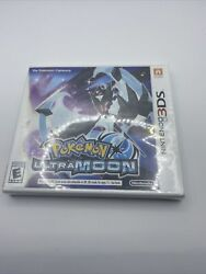 Pokemon Ultra Moon Nintendo 3ds New Factory Sealed Authentic