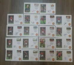 18 Manchester United 1999 Treble Winners First Day Covers Original Beckham Giggs