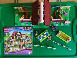 Lego 3189 Friends Heartlake Stables Retired W/ Minifigures Instructions No Box