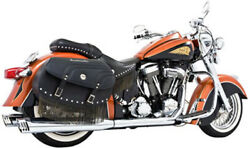 Freedom Performance Dual Exhaust System With 4in. Racing Muffler Chrome In00001