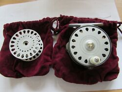 A1 Stunning Hardy Bougle Baby Lightweight Trout Fly Fishing Reel + Spool Etc