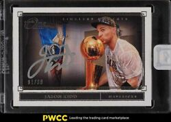 Panini One And One Timeless Moments Jason Kidd Auto 1/99 Tm-jkd