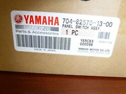 Yamaha Outboard Dual Switch Panel Assembly. 6y8-82570-04-00