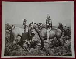 John K. Hillers Photo The Warrior And His Bride Ute 1872