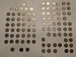1964 - 2021 Kennedy Half Dollar Almost Complete Collection