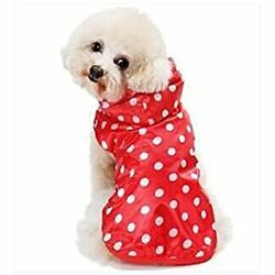 Coolthick Poncho Poncho For Rain Coat Dog For Dog Kappa Small Dogs Medium-sized