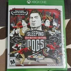 Sleeping Dogs Definitive Edition North American Version From Japan