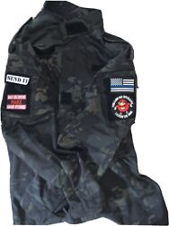 Tactical Dark Earth Green Mil-sim Airsoft Outfit Includes Pants No Patches