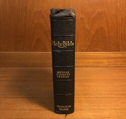 Holy Bible Self Pronouncing Edition Asv Vintage Thomas Nelson And Sons 1901