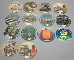 13th Print Set 10 Cent Aafes Pogs 2009 Printing All 14 Pogs About Uncir.