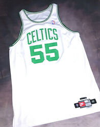 100 Authentic Nike Boston Celtics Eric Williams Game Issued Jersey Pro Cut 52+3