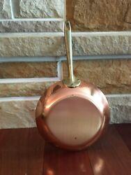 Vtg Revere Ware Solid Copper/stainless Steel Limited Edition Frying Pan 8.5 New