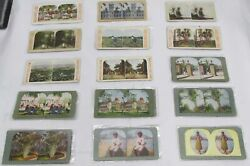 Lot Of 170 Vintage Hawaii Stereo Views, Book And Stereoscope - Sold As Is